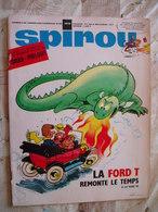 SPIROU NO 1610-02/1969-RC DIVERS-AVEC MINI RECIT ET POSTER JEHAN ET PIRLOUIT-VOIR - Spirou Magazine