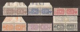 (Fb).Regno.V.E.III.Pacchi Postali.1914-22.Sei Valori Nuovi (208-18) - Pacchi Postali