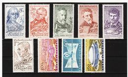 Post219 TSCHECHOSLOWAKEI CSSR 1959 MICHL 1140/48 ** Postfrisch SIEHE ABBILDUNG - Tschechoslowakei/CSSR
