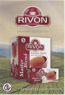 Calendar Russia 2010 - Tea - Ceylon - Sri Lanka - RIVON - Advertising - A Rarity. - Calendars