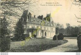 77.  CESSON .  Façade Du Château De Saint Leu . - Cesson