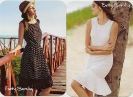 Calendar Russia 2015 - 2 Pcs. - Advertising - Betty Barclay - Clothes - Women - Girls - Original - Vintage. - Calendars