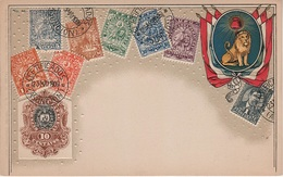 Philatelie Litho AK Paraguay Asuncion Peso Sello Briefmarke Stamp Timbre America Del Sur Amerique Du Sud Südamerika - Paraguay