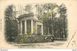 60.  ERMENONVILLE Près SENLIS .  Le Temple De La Philosophie . - Ermenonville
