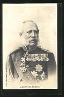 AK Albert, Roi De Saxe, König Von Sachsen - Familles Royales