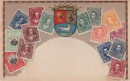 Philatelie Litho AK Venezuela Caracas Bolivar Sello Briefmarke Stamp Timbre America Del Sur Amerique Du Sud Südamerika - Venezuela