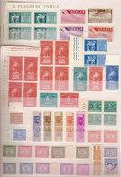 (Fb).Repubblica.1945-1984.Lotto Servizi Nuovi (237-18) - Lotti E Collezioni