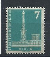 Allemagne Berlin N°120* (MH) 1956 - Tour De Radio - Berlin - [5] Berlin