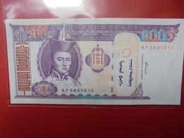 MONGOLIE 100 TUGRIK 2000-2014 CIRCULER - Mongolie