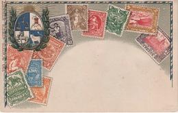 Philatelie Litho AK Uruquay Montevideo Peso Sello Briefmarke Stamp Timbre America Del Sur Amerique Du Sud Südamerika - Uruguay