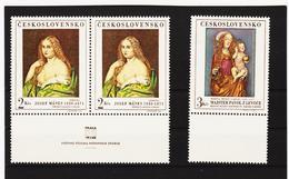 Post182 TSCHECHOSLOWAKEI CSSR 1968 MICHL 1802 + 1843 ** Postfrisch SIEHE ABBILDUNG - Tschechoslowakei/CSSR