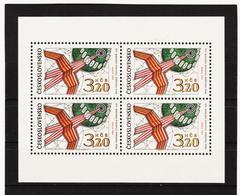 Post183 TSCHECHOSLOWAKEI CSSR 1969 MICHL 1903 KLEINBOGEN ** Postfrisch SIEHE ABBILDUNG - Tschechoslowakei/CSSR