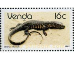 Ref. 28283 * MNH * - VENDA. 1987. REPTYLE . REPTIL - Venda