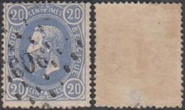 """Belgique - COB 31 Oblitération LP """"209"""" Laroche (DD) DC3200 - 1869-1883 Leopold II"""