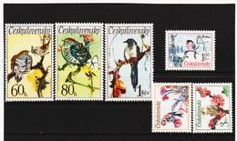 Post168 TSCHECHOSLOWAKEI CSSR 1972 MICHL 2110/15 ** Postfrisch SIEHE ABBILDUNG - Tschechoslowakei/CSSR