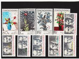 Post171 TSCHECHOSLOWAKEI CSSR 1974 MICHL 2185/94 ** Postfrisch SIEHE ABBILDUNG - Tschechoslowakei/CSSR