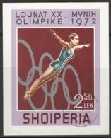 Albanien Block 45 O Olympia München - Albanie