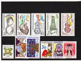 Post172 TSCHECHOSLOWAKEI CSSR 1974 MICHL 2203/13 ** Postfrisch SIEHE ABBILDUNG - Tschechoslowakei/CSSR