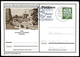 98365) BRD - P 72 - 7/48 - Ortsgleich OO Gestempelt - 3500 Kassel - Städteplatz - Illustrated Postcards - Used