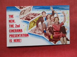 New 2nd Cinerama Presentation Is Here !  Orpheum Theatre San Fran Ca.      Ref 3346 - Advertising