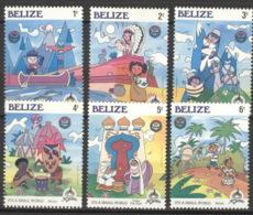 Belize 829/34 ** Postfrisch Disneyland - Disney