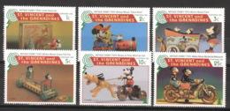 St. Vincent 3362/67 ** Postfrisch Walt-Disney-Figuren - Disney