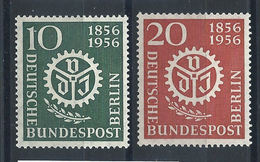 Allemagne Berlin N°123/24* (MH) 1956 - Association Des Ingénieurs - [5] Berlin