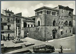 °°° Cartolina N. 192 Tarquinia Piazza Cavour E Palazzo Vitelleschi Nuova °°° - Viterbo