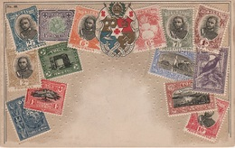 Philatelie Litho AK Tonga Toga Nukualofa Nuku Alofa Briefmarke Stamp Timbre Ozeanien Polynesien Polynesie Kolonie Colony - Tonga