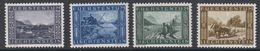 Liechtenstein 1943 Binnenkanal 4v ** Mnh (42727) - Gebruikt