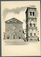 °°° Cartolina N. 194 Viterbo La Basilica Di S. Maria Della Quercia Nuova °°° - Viterbo