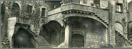 °°° Cartolina N. 195 Viterbo Quartiere Medioevale S. Pellegrino (doppia) Nuova °°° - Viterbo