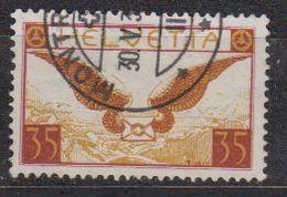 Switzerland 1929 Airmail 35c  Ordinary Paper Used (42728) - Luchtpostzegels