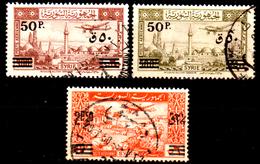 Siria-00161- Posta Aerea 1948 (o) Used - Senza Difetti Occulti. - Siria