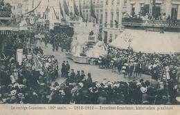 CPA - Belgique - Le Cortège Conscience - 100 Anniversaire - 1812-1912 - Belgique