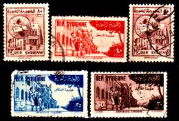Siria-00162- Posta Aerea 1954 (o) Used - Senza Difetti Occulti. - Siria