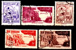 Siria-00163- Posta Aerea 1954 (o) Used - Senza Difetti Occulti. - Siria