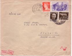 Lettera Da Como A Praga 7/3/1941 Censura  B964 - Poststempel