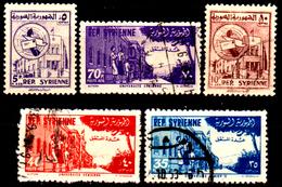 Siria-00164- Posta Aerea 1954 (o) Used - Senza Difetti Occulti. - Siria