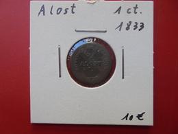 PRISON DE ALOST 1 CENTIME 1833 - Collections