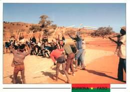 CPSM Burkina Faso-Province De Passore-Battage Du Mil       L2841 - Burkina Faso