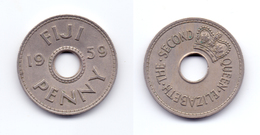 Fiji 1 Penny 1959 - Fiji