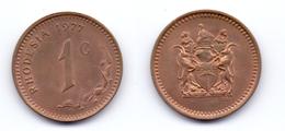 Rhodesia 1 Cent 1977 - Rhodesia