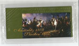 France -  République Tchèque - Austerlitz 1805 - Pochette Philatélique Sous Blister Intact - France