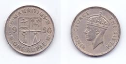 Mauritius 1 Rupee 1950 - Mauritius