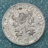 Czechoslovakia 3 Hellers, 1953 -1562 - Czechoslovakia