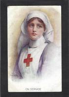 CPA Croix Rouge Red Cross Non Circulé Oilette - Red Cross