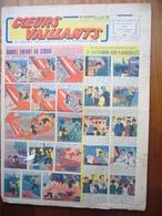 """Coeurs Vaillants N°26 Du 27 Juin 1943 Avec Planche De Tintin """"L'Etoile Mystérieuse"""" - Magazines"""