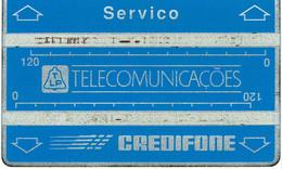 PORTUGAL--PHONECARDS- -OPTICAL- TLP CREDIFONE-- SERVIÇO  BATCH--804S - Portugal