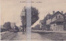 CPA  SAINT-JUST-SUR-LOIRE   LA GARE - France